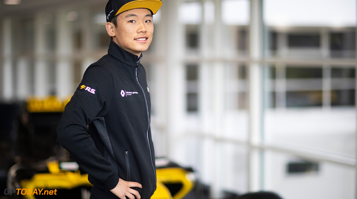 Renault Sport Academy Driver Ye Yifei (CHN) Renault Sport Academy Driver.