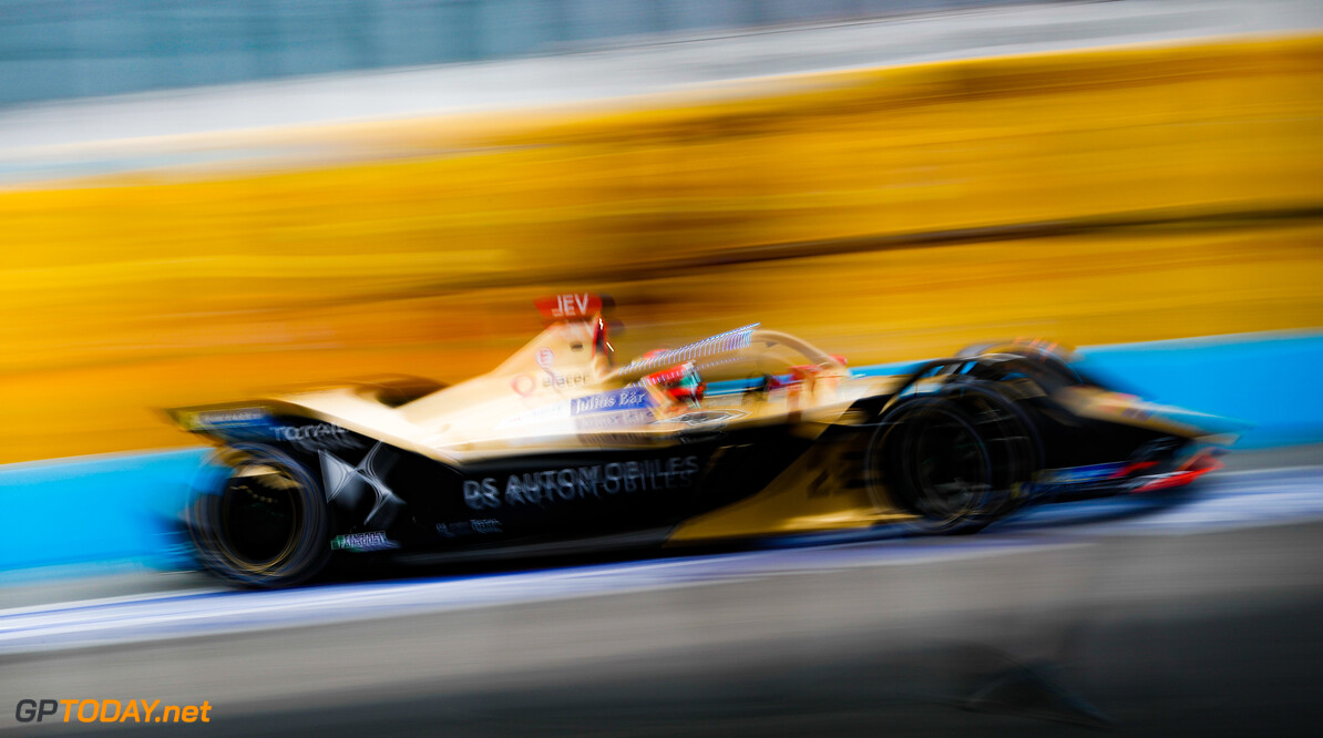 2019 Rome E-prix CIRCUITO CITTADINO DELL'EUR, ITALY - APRIL 12: Jean-Eric Vergne (FRA), DS TECHEETAH, DS E-Tense FE19 during the Rome E-prix at Circuito Cittadino dell'EUR on April 12, 2019 in Circuito Cittadino dell'EUR, Italy. (Photo by Alastair Staley / LAT Images) 2019 Rome E-prix Alastair Staley  Italy  action electric FE open wheel