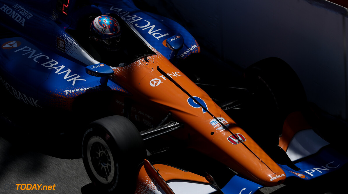 Dixon leads Power after opening practice
