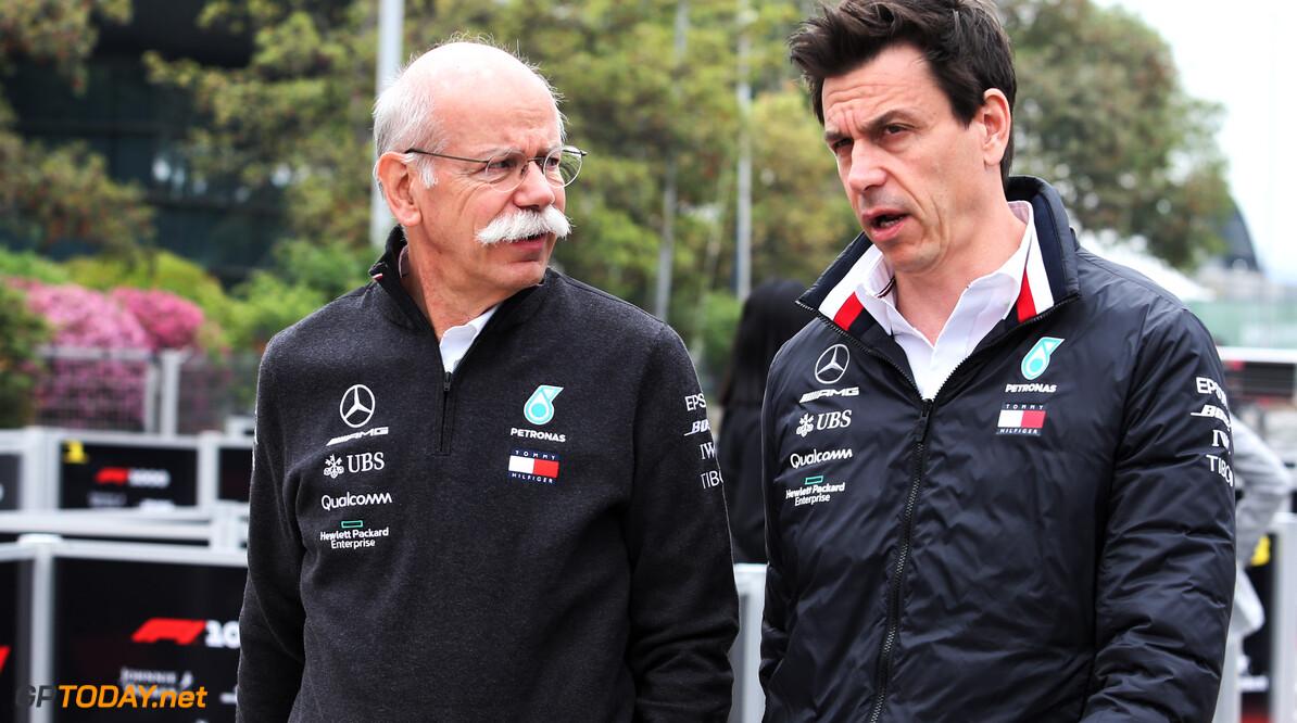 Mercedes CEO Zetsche ziet stap naar de Formule E als zeer belangrijke stap