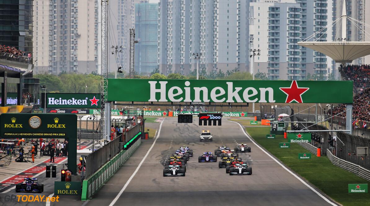 'Formule 1 gaat Chinese Grand Prix uitstellen of afgelasten'