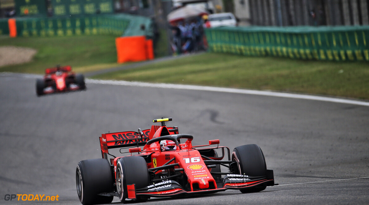 Leclerc defends Ferrari's call to extend his second stint
