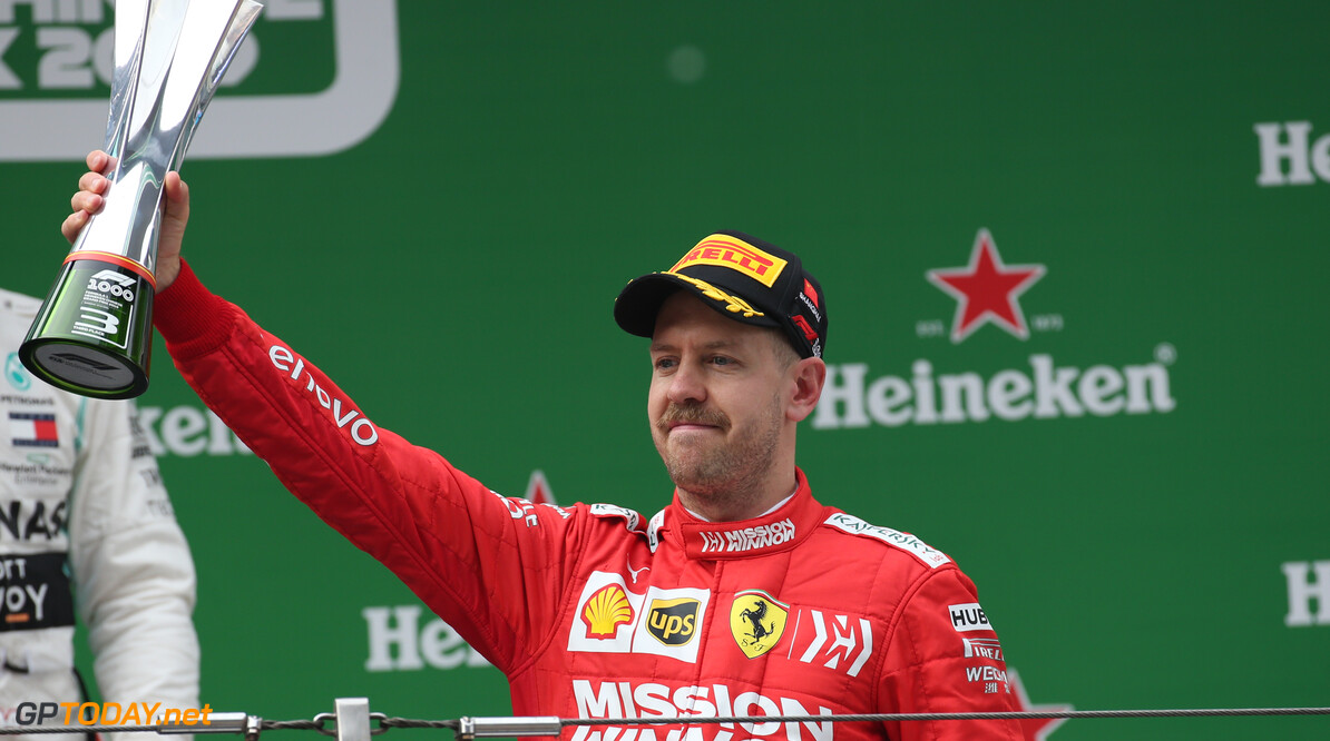 Vettel: F1 should drop 'super-boring' trophy designs