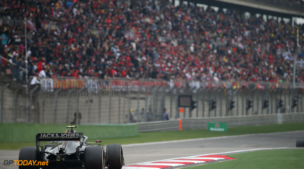 Formula One World Championship Kevin Magnussen (DEN) Haas VF-19. 14.04.2019. Formula 1 World Championship, Rd 3, Chinese Grand Prix, Shanghai, China, Race Day. - www.xpbimages.com, EMail: requests@xpbimages.com - copy of publication required for printed pictures. Every used picture is fee-liable. (C) Copyright: Batchelor / XPB Images Motor Racing - Formula One World Championship - Chinese Grand Prix - Race Day - Shanghai, China xpbimages.com Shanghai China  Formel1 Formel F1 Formula 1 Formula1 GP Grand Prix one Sunday Shanghai International Circuit China Chinese Shanghai April 14 04 4 2019 Race Action Track