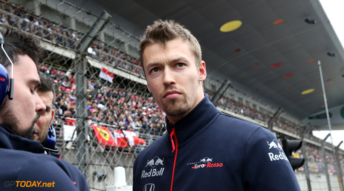 Formula One World Championship Daniil Kvyat (RUS) Scuderia Toro Rosso STR14. 14.04.2019. Formula 1 World Championship, Rd 3, Chinese Grand Prix, Shanghai, China, Race Day. - www.xpbimages.com, EMail: requests@xpbimages.com - copy of publication required for printed pictures. Every used picture is fee-liable. (C) Copyright: Batchelor / XPB Images Motor Racing - Formula One World Championship - Chinese Grand Prix - Race Day - Shanghai, China xpbimages.com Shanghai China  Formel1 Formel F1 Formula 1 Formula1 GP Grand Prix one Sunday Shanghai International Circuit China Chinese Shanghai April 14 04 4 2019 Grid Portrait