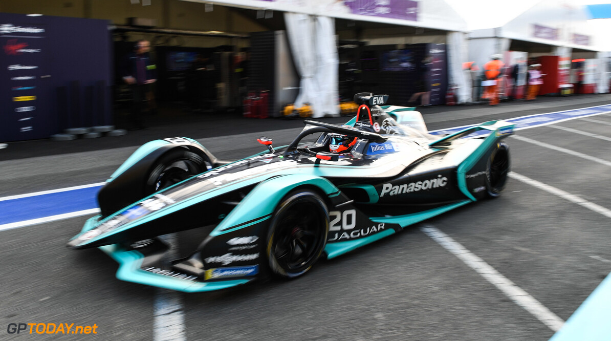 2019 Rome E-prix Mitch Evans (NZL), Panasonic Jaguar Racing, Jaguar I-Type 3  2019 Rome E-prix Sam Bagnall  Italy  ts-live electric FE open wheel