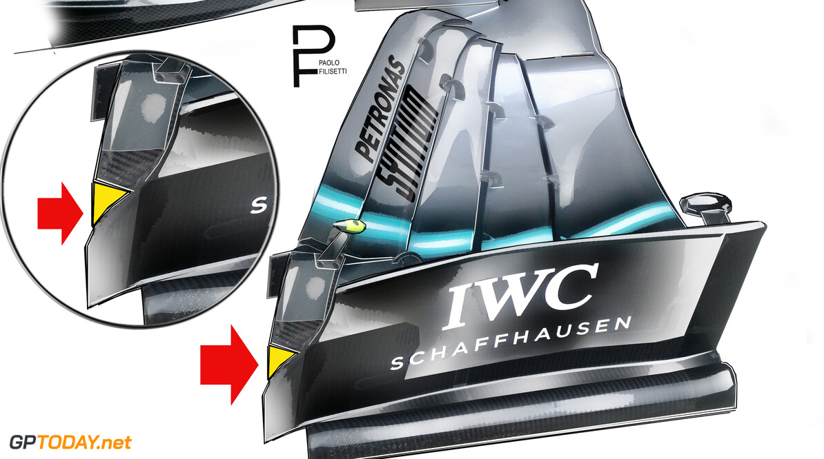<strong>Technical:</strong> The updates brought by Mercedes, Ferrari and Red Bull in China