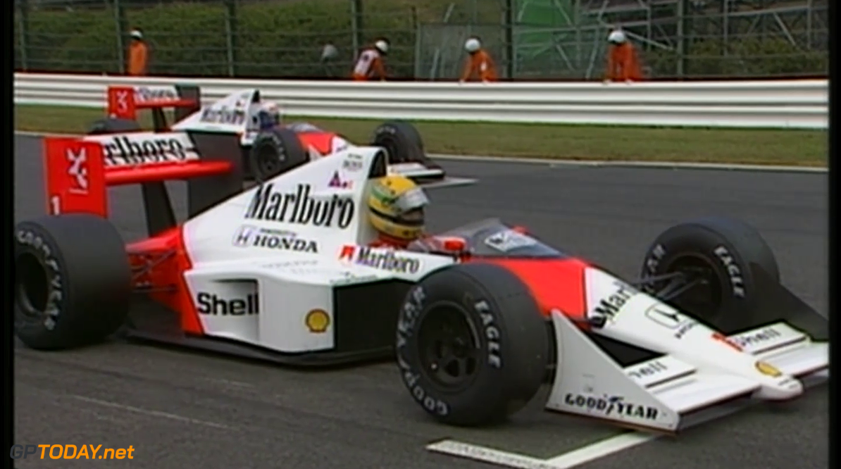 <strong>Ayrton Senna Special:</strong> Part 34 - War at the team - Suzuka (1989)