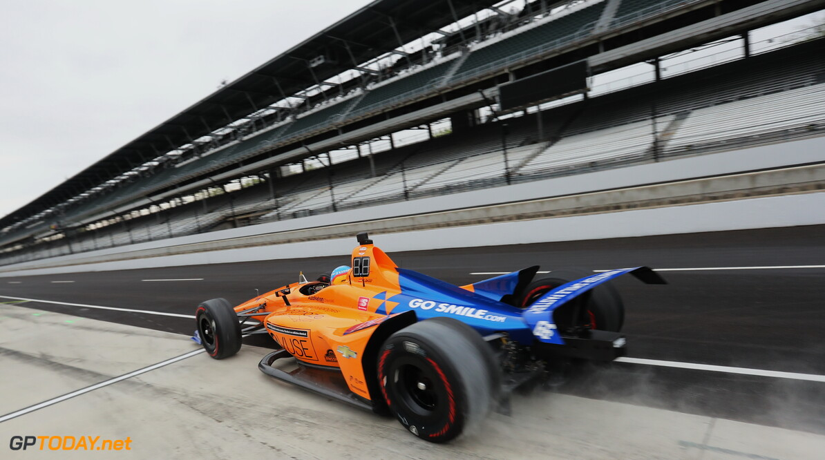 Chris Jones Indianapolis USA  Indy 500 Open Test at the Indianapolis Motor Speedway