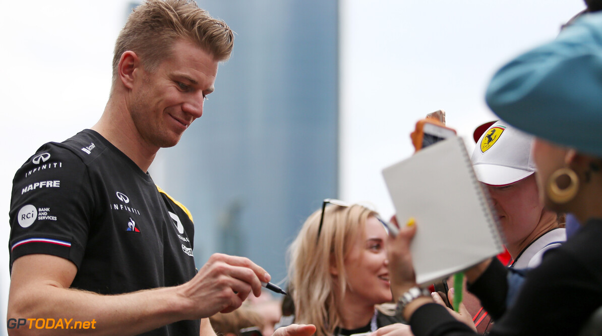 Formula One World Championship Nico Hulkenberg (GER), Renault Sport F1 Team  25.04.2019. Formula 1 World Championship, Rd 4, Azerbaijan Grand Prix, Baku Street Circuit, Azerbaijan, Preparation Day. - www.xpbimages.com, EMail: requests@xpbimages.com - copy of publication required for printed pictures. Every used picture is fee-liable. (C) Copyright: Charniaux / XPB Images Motor Racing - Formula One World Championship - Azerbaijan Grand Prix - Preparation Day - Baku, Azerbaijan XPB Images Baku Azerbaijan  Formel1 Formel F1 Formula 1 Formula1 GP Grand Prix one Thursday Portrait Circuit Baku Azerbaijan April 25 04 4 2019