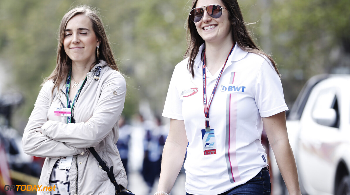 2019 Baku BAKU CITY CIRCUIT, AZERBAIJAN - APRIL 25: Tatiana Calderon (COL, BWT ARDEN) during the Baku at Baku City Circuit on April 25, 2019 in Baku City Circuit, Azerbaijan. (Photo by Joe Portlock / LAT Images / FIA F2 Championship) 2019 Baku Joe Portlock  Azerbaijan  F2 Formula 2