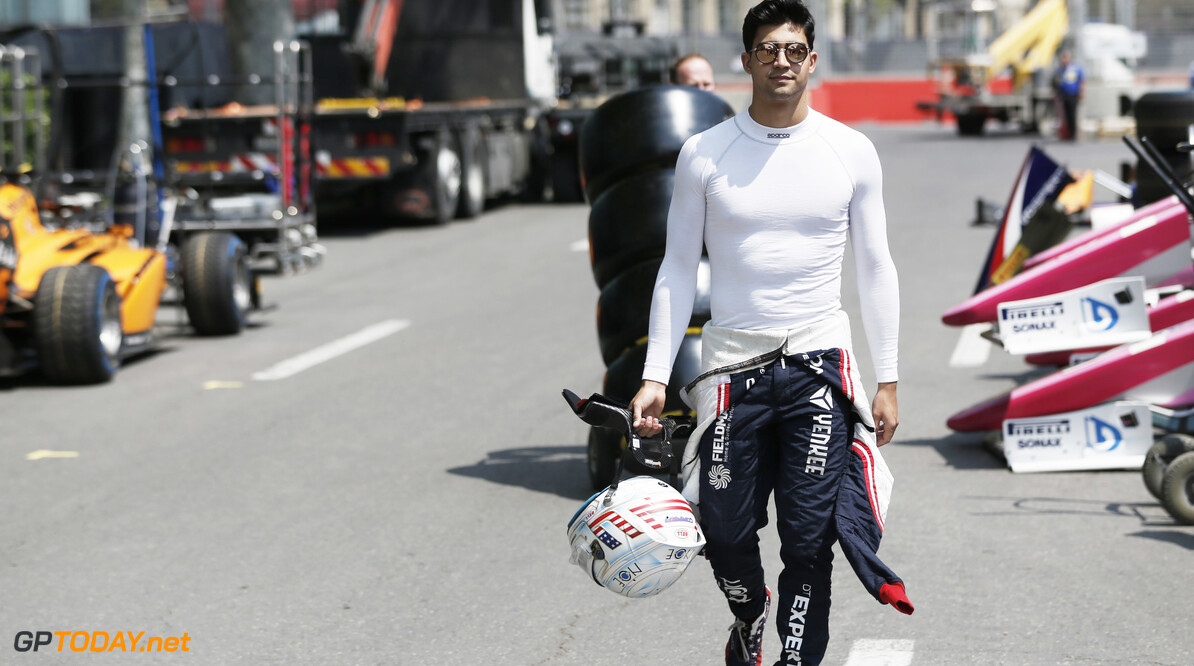 2019 Baku BAKU CITY CIRCUIT, AZERBAIJAN - APRIL 25: Juan Manuel Correa (USA, SAUBER JUNIOR TEAM BY CHAROUZ) during the Baku at Baku City Circuit on April 25, 2019 in Baku City Circuit, Azerbaijan. (Photo by Joe Portlock / LAT Images / FIA F2 Championship) 2019 Baku Joe Portlock  Azerbaijan  F2 Formula 2
