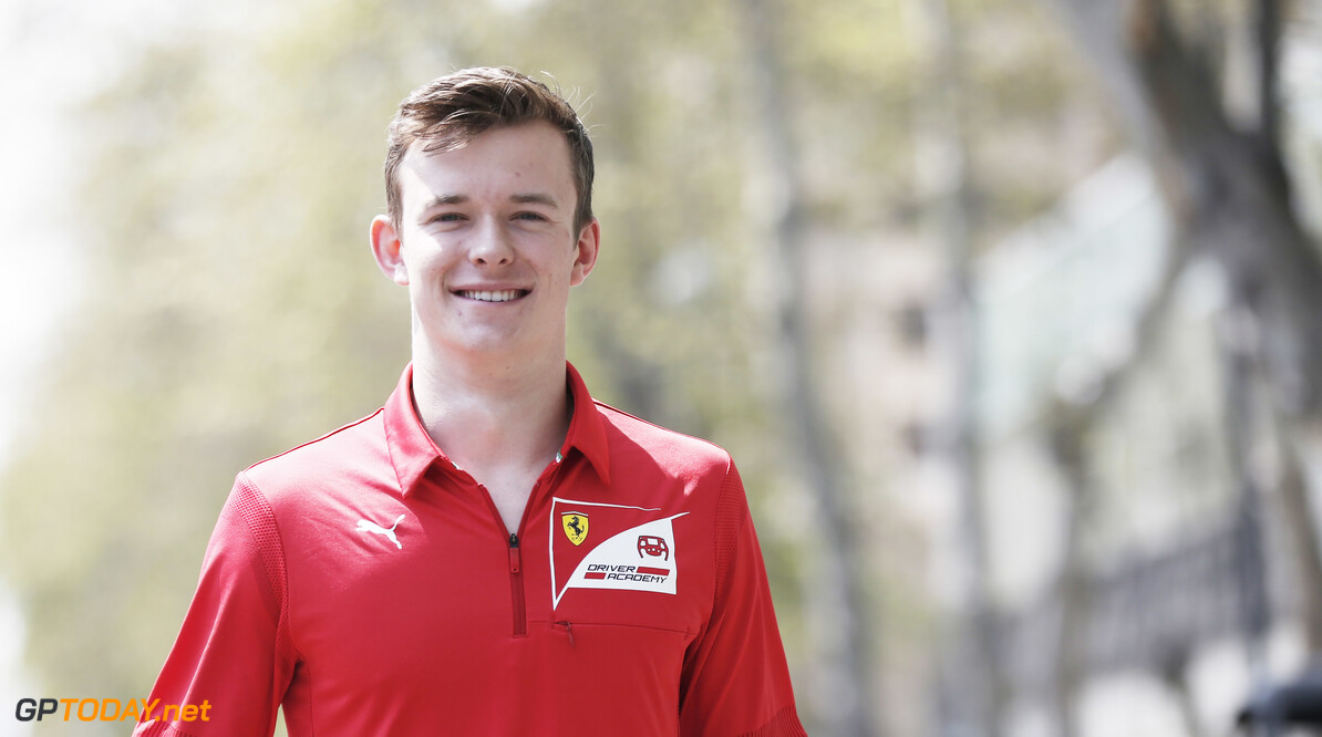 2019 Baku BAKU CITY CIRCUIT, AZERBAIJAN - APRIL 25: Callum Ilott (GBR, SAUBER JUNIOR TEAM BY CHAROUZ) during the Baku at Baku City Circuit on April 25, 2019 in Baku City Circuit, Azerbaijan. (Photo by Joe Portlock / LAT Images / FIA F2 Championship) 2019 Baku Joe Portlock  Azerbaijan  F2 Formula 2