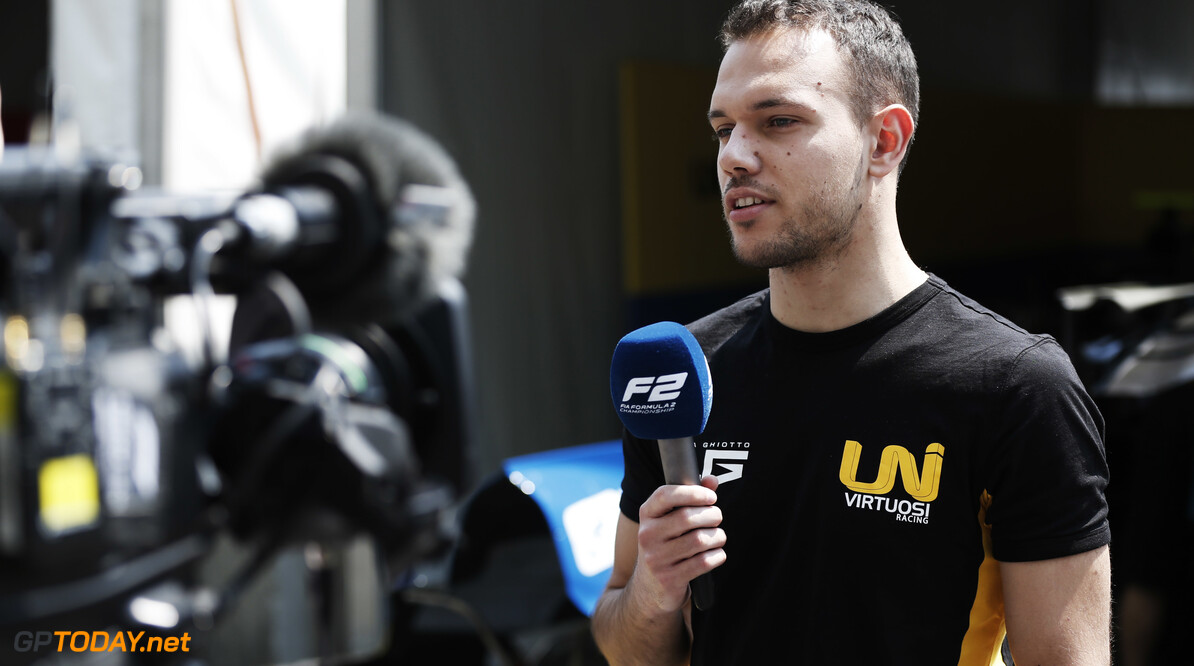 2019 Baku BAKU CITY CIRCUIT, AZERBAIJAN - APRIL 25: Luca Ghiotto (ITA, UNI VIRTUOSI) during the Baku at Baku City Circuit on April 25, 2019 in Baku City Circuit, Azerbaijan. (Photo by Joe Portlock / LAT Images / FIA F2 Championship) 2019 Baku Joe Portlock  Azerbaijan  F2 Formula 2