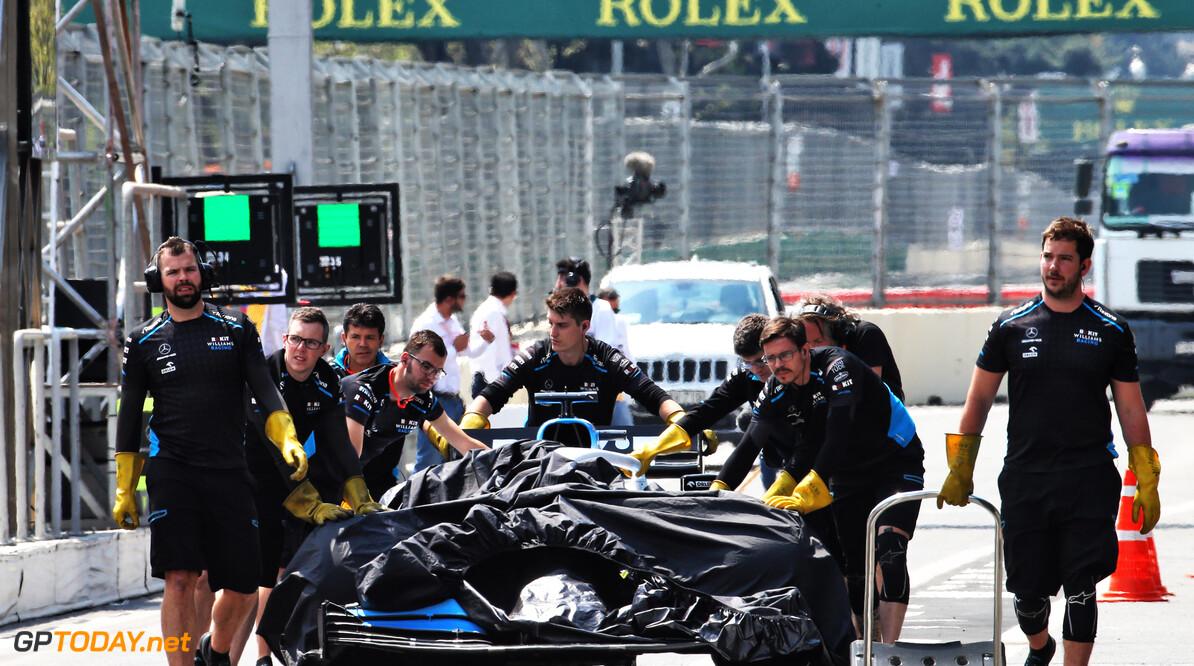 Baku to reimburse Williams for drain cover damage