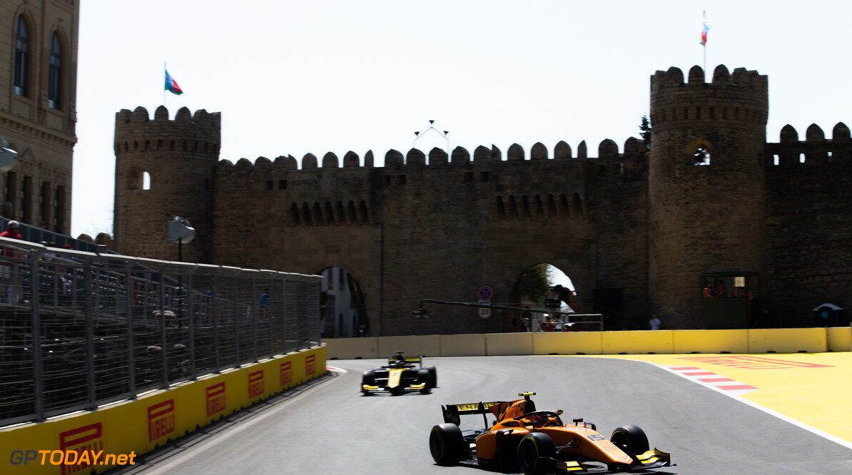 2019 Baku BAKU CITY CIRCUIT, AZERBAIJAN - APRIL 26: Jack Aitken (GBR, CAMPOS RACING) during the Baku at Baku City Circuit on April 26, 2019 in Baku City Circuit, Azerbaijan. (Photo by Joe Portlock / LAT Images / FIA F2 Championship) 2019 Baku Joe Portlock  Azerbaijan  Practise F2 Formula 2