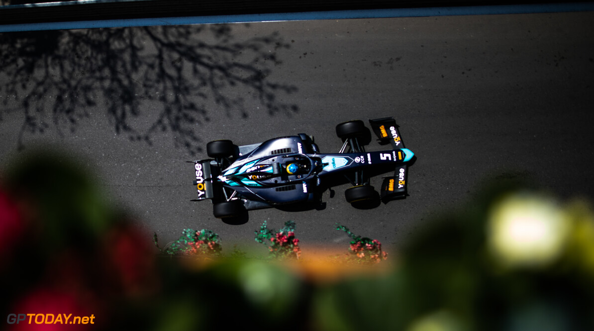 2019 Baku BAKU CITY CIRCUIT, AZERBAIJAN - APRIL 26: Sergio Sette Camara (BRA, DAMS) during the Baku at Baku City Circuit on April 26, 2019 in Baku City Circuit, Azerbaijan. (Photo by Joe Portlock / LAT Images / FIA F2 Championship) 2019 Baku Joe Portlock  Azerbaijan  Practise F2 Formula 2