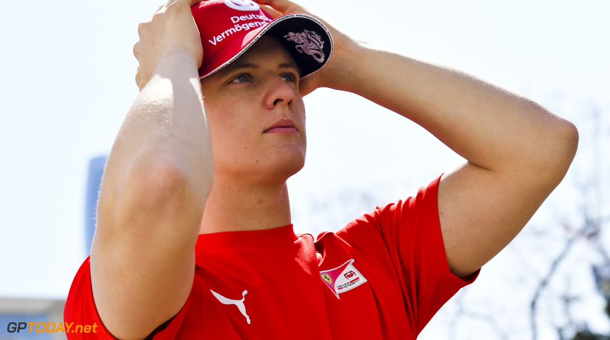2019 Baku BAKU CITY CIRCUIT, AZERBAIJAN - APRIL 26: Mick Schumacher (DEU, PREMA RACING) during the Baku at Baku City Circuit on April 26, 2019 in Baku City Circuit, Azerbaijan. (Photo by Jerry Andre / LAT Images / FIA F2 Championship) 2019 Baku Jerry Andre  Azerbaijan  F2 Formula 2