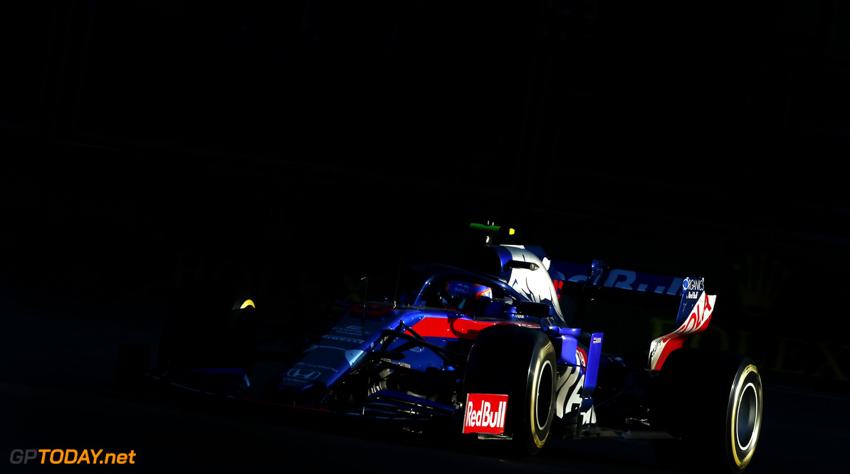 Formula One World Championship Alexander Albon (THA), Scuderia Toro Rosso  26.04.2019. Formula 1 World Championship, Rd 4, Azerbaijan Grand Prix, Baku Street Circuit, Azerbaijan, Practice Day. - www.xpbimages.com, EMail: requests@xpbimages.com - copy of publication required for printed pictures. Every used picture is fee-liable. (C) Copyright: Charniaux / XPB Images Motor Racing - Formula One World Championship - Azerbaijan Grand Prix - Practice Day - Baku, Azerbaijan XPB Images Baku Azerbaijan  Formel1 Formel F1 Formula 1 Formula1 GP Grand Prix one Circuit Baku Azerbaijan Friday April 26 04 4 2019 Action Track