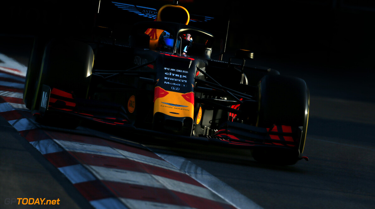Formula One World Championship Pierre Gasly (FRA), Red Bull Racing  26.04.2019. Formula 1 World Championship, Rd 4, Azerbaijan Grand Prix, Baku Street Circuit, Azerbaijan, Practice Day. - www.xpbimages.com, EMail: requests@xpbimages.com - copy of publication required for printed pictures. Every used picture is fee-liable. (C) Copyright: Charniaux / XPB Images Motor Racing - Formula One World Championship - Azerbaijan Grand Prix - Practice Day - Baku, Azerbaijan XPB Images Baku Azerbaijan  Formel1 Formel F1 Formula 1 Formula1 GP Grand Prix one Circuit Baku Azerbaijan Friday April 26 04 4 2019 Action Track