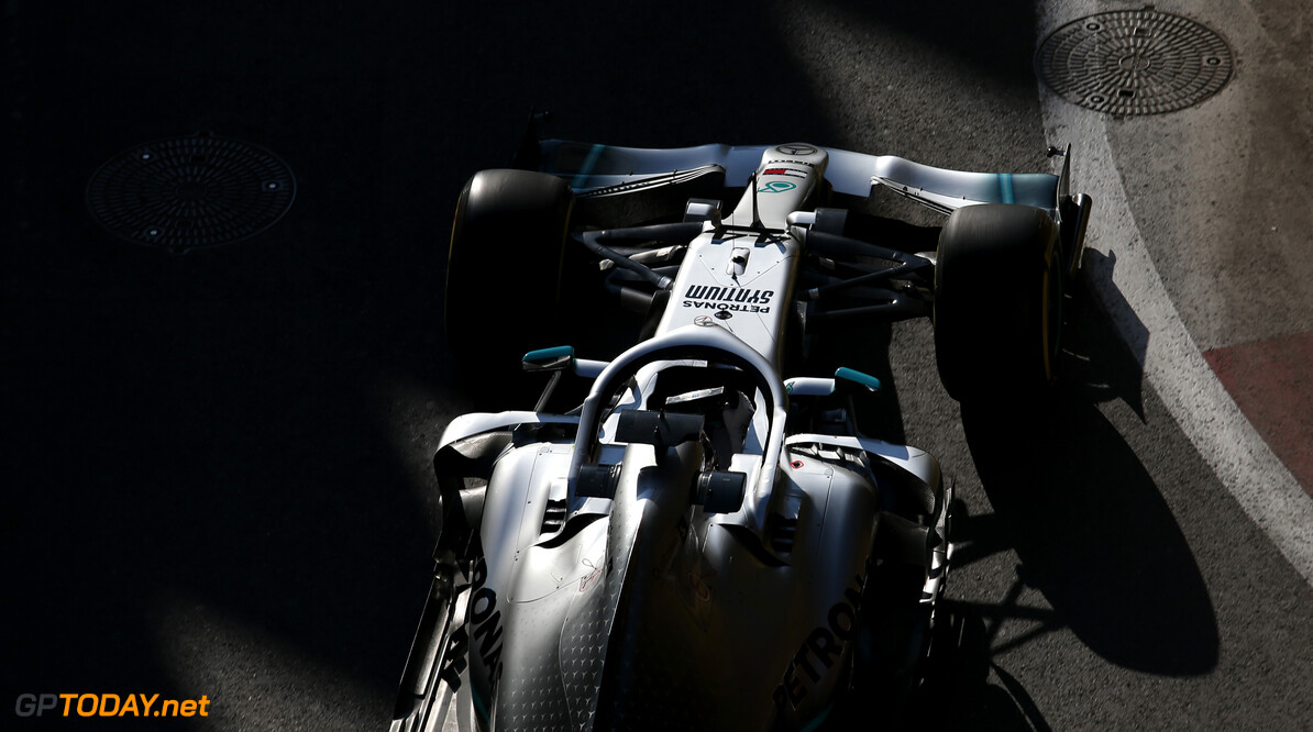 Formula One World Championship Lewis Hamilton (GBR), Mercedes AMG F1   26.04.2019. Formula 1 World Championship, Rd 4, Azerbaijan Grand Prix, Baku Street Circuit, Azerbaijan, Practice Day. - www.xpbimages.com, EMail: requests@xpbimages.com - copy of publication required for printed pictures. Every used picture is fee-liable. (C) Copyright: Charniaux / XPB Images Motor Racing - Formula One World Championship - Azerbaijan Grand Prix - Practice Day - Baku, Azerbaijan XPB Images Baku Azerbaijan  Formel1 Formel F1 Formula 1 Formula1 GP Grand Prix one Circuit Baku Azerbaijan Friday April 26 04 4 2019 Action Track