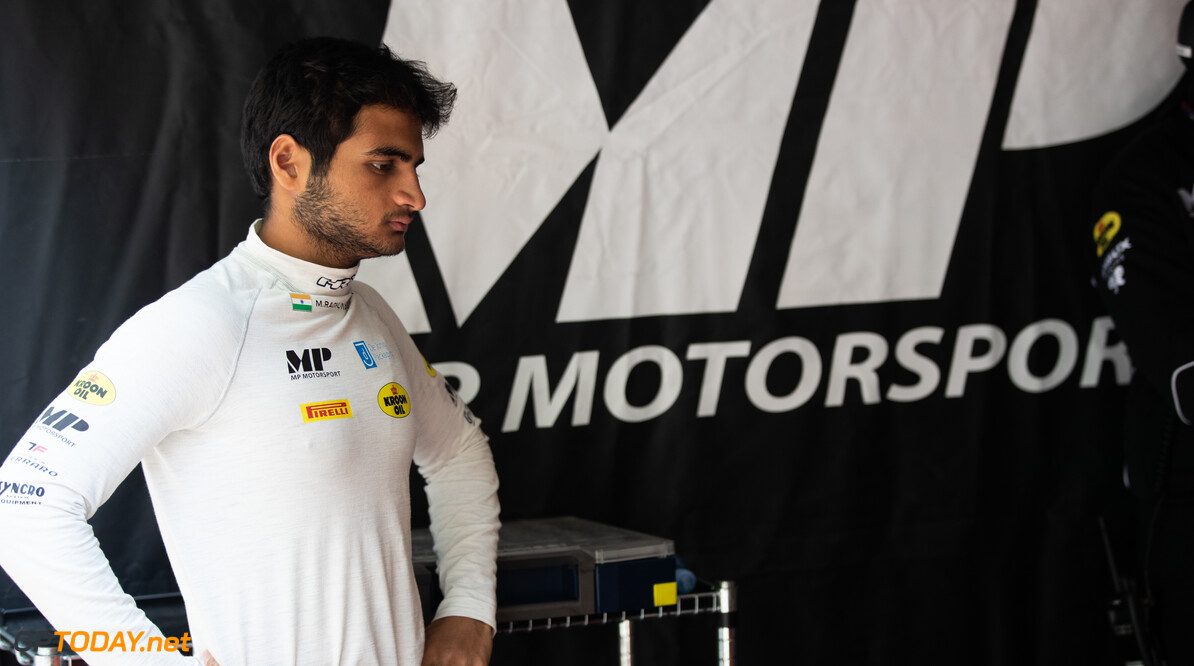 2019 Baku BAKU CITY CIRCUIT, AZERBAIJAN - APRIL 26: Mahaveer Raghunathan (IND, MP MOTORSPORT) during the Baku at Baku City Circuit on April 26, 2019 in Baku City Circuit, Azerbaijan. (Photo by Joe Portlock / LAT Images / FIA F2 Championship) 2019 Baku Joe Portlock  Azerbaijan  Qualifying Quali F2 Formula 2