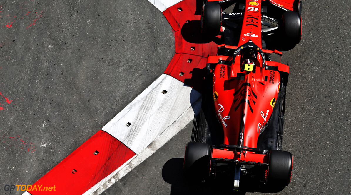 Leclerc 'didn't push' after making first pit stop