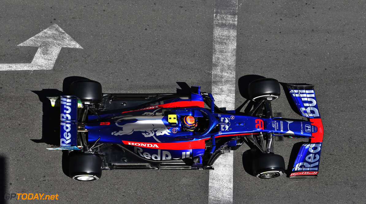 Albon: Toro Rosso not getting the results it deserves