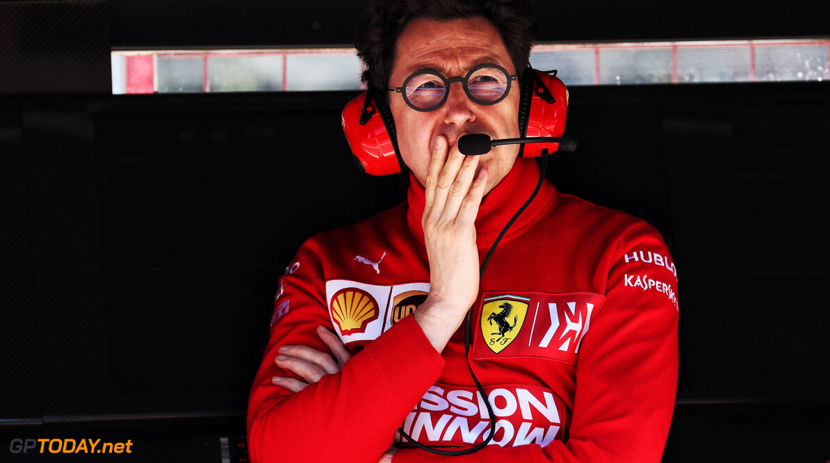 Binotto: Points gap not reflective of Ferrari's potential