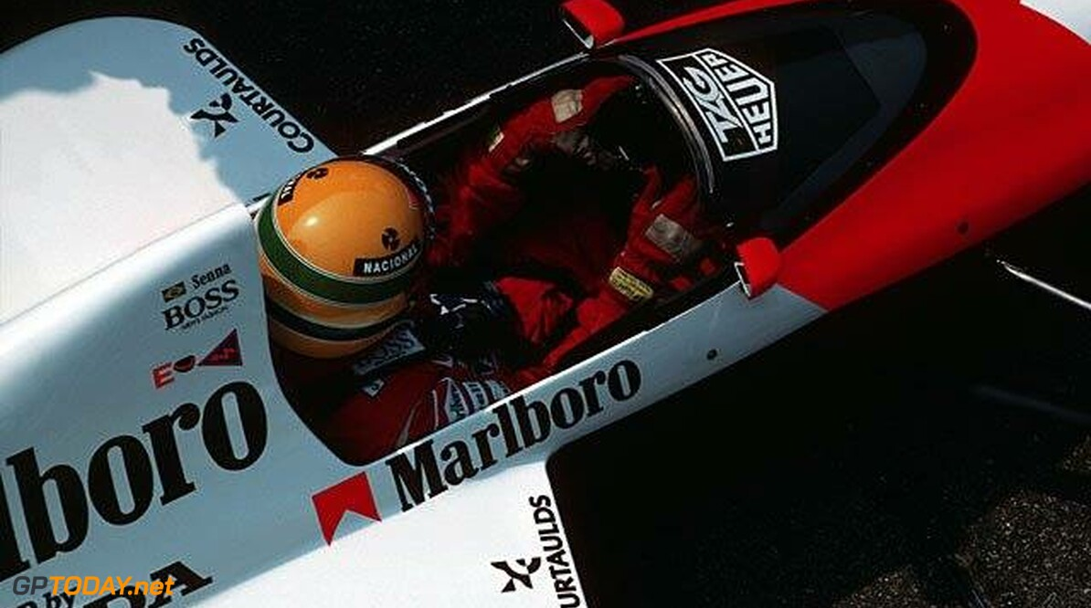 <b>Video:</b> Ayrton Senna met volle vaart over Suzuka