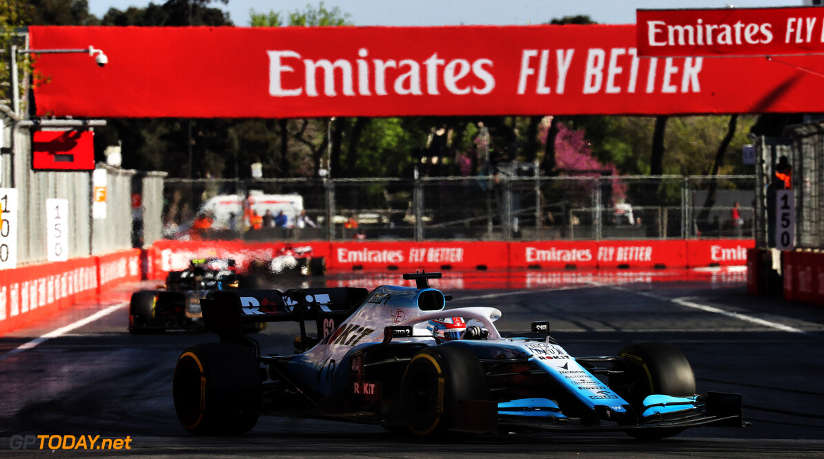 Russell cruises to Azerbaijan Virtual Grand Prix victory