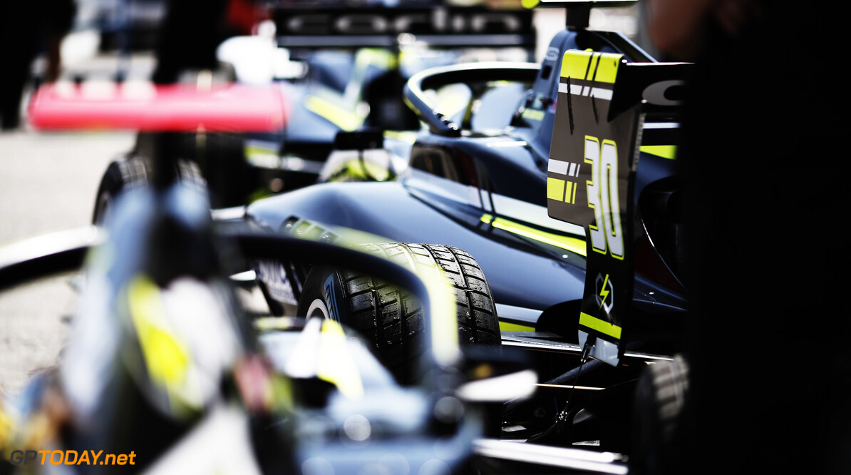 2019 Barcelona CIRCUIT DE BARCELONA-CATALUNYA, SPAIN - MAY 09: Car of Felipe Drugovich (BRA, Carlin Buzz Racing) during the Barcelona at Circuit de Barcelona-Catalunya on May 09, 2019 in Circuit de Barcelona-Catalunya, Spain. (Photo by Joe Portlock / LAT Images / FIA F3 Championship) 2019 Barcelona Joe Portlock  Spain  Portrait F3 Formula 3 FIA F3