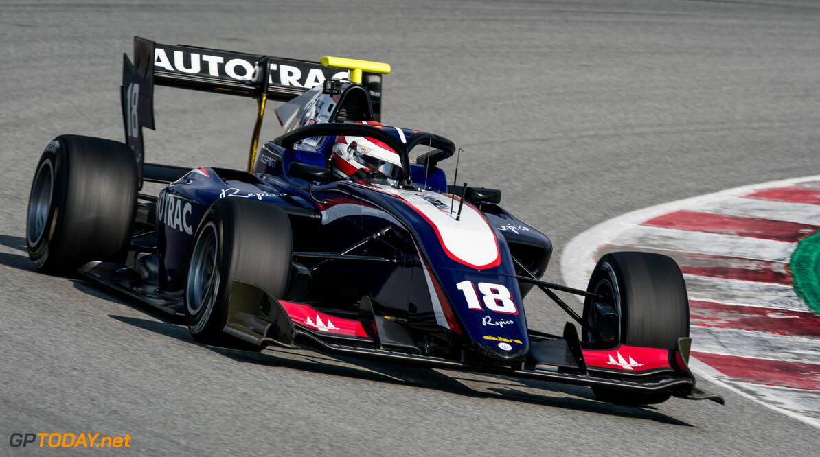 Piquet narrowly heads Barcelona practice