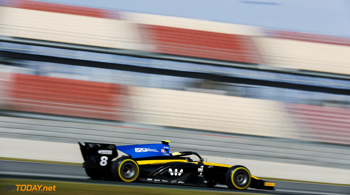 2019 Barcelona March testing CIRCUIT DE BARCELONA-CATALUNYA, SPAIN - MARCH 05: FIA Formula 2 Championship - Testing
