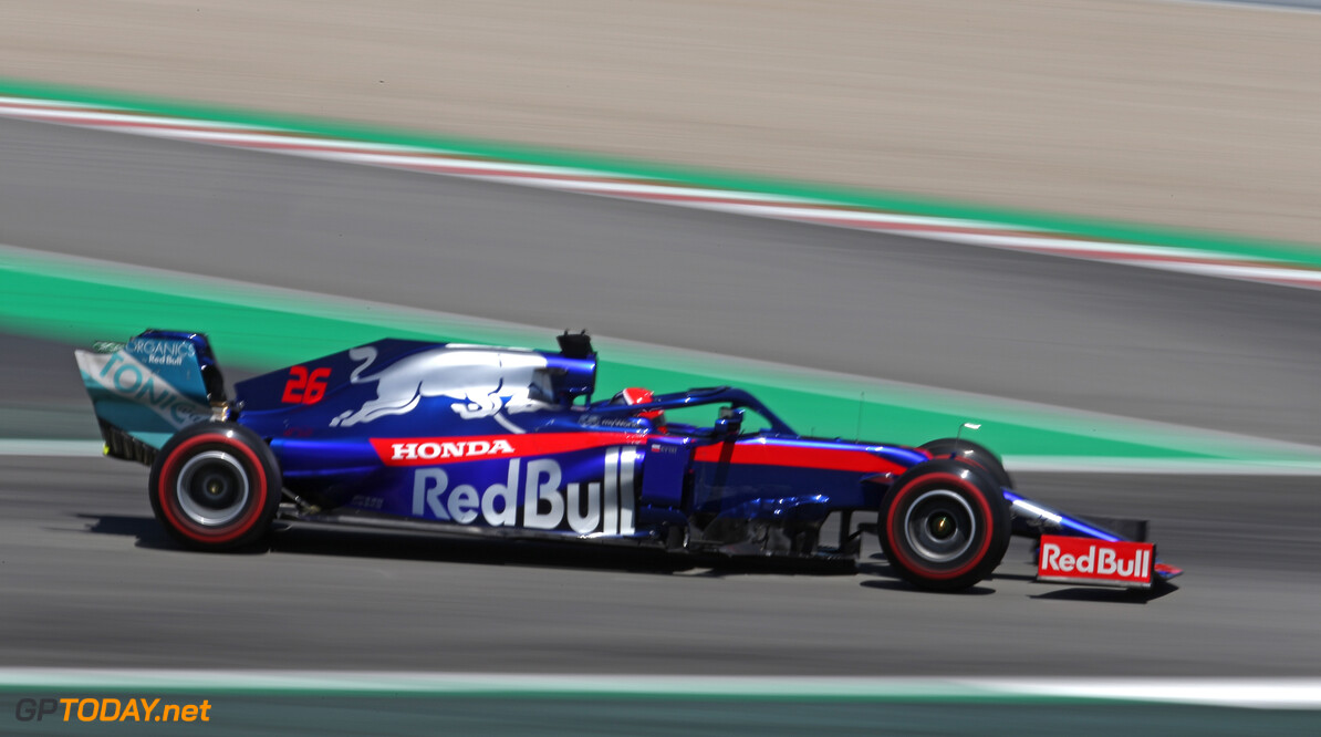 Formula One World Championship Daniil Kvyat (RUS), Scuderia Toro Rosso  10.05.2019. Formula 1 World Championship, Rd 5, Spanish Grand Prix, Barcelona, Spain, Practice Day. - www.xpbimages.com, EMail: requests@xpbimages.com - copy of publication required for printed pictures. Every used picture is fee-liable. (C) Copyright: Charniaux / XPB Images Motor Racing - Formula One World Championship - Spanish Grand Prix - Practice Day - Barcelona, Spain XPB Images Barcelona Spain  Formel1 Formel F1 Formula 1 Formula1 GP Grand Prix one Circuit de Catalunya May Spanish Spain Montmelo Friday 10 05 5 2019 Action Track