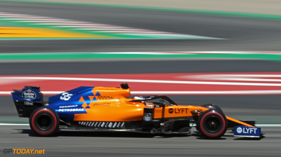 Formula One World Championship Carlos Sainz Jr (ESP), McLaren F1 Team  10.05.2019. Formula 1 World Championship, Rd 5, Spanish Grand Prix, Barcelona, Spain, Practice Day. - www.xpbimages.com, EMail: requests@xpbimages.com - copy of publication required for printed pictures. Every used picture is fee-liable. (C) Copyright: Charniaux / XPB Images Motor Racing - Formula One World Championship - Spanish Grand Prix - Practice Day - Barcelona, Spain XPB Images Barcelona Spain  Formel1 Formel F1 Formula 1 Formula1 GP Grand Prix one Circuit de Catalunya May Spanish Spain Montmelo Friday 10 05 5 2019 Action Track
