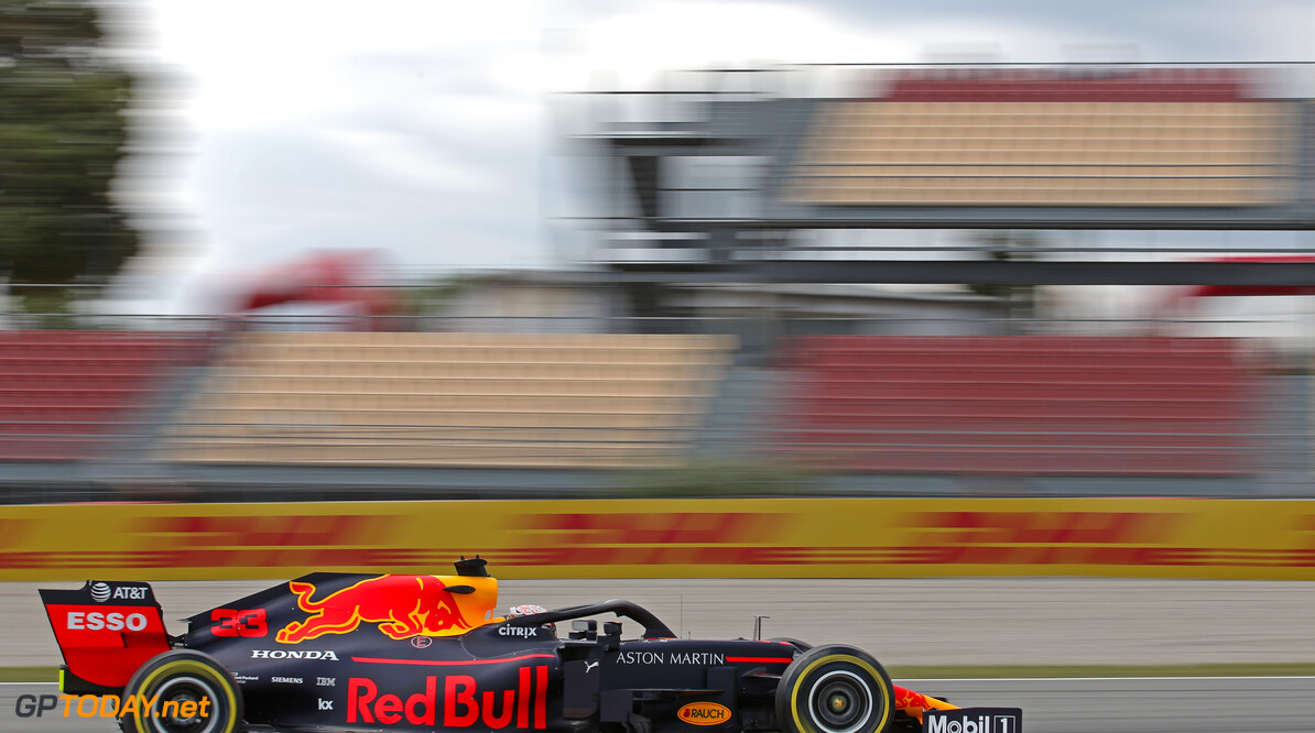 Formula One World Championship Max Verstappen (NLD), Red Bull Racing  10.05.2019. Formula 1 World Championship, Rd 5, Spanish Grand Prix, Barcelona, Spain, Practice Day. - www.xpbimages.com, EMail: requests@xpbimages.com - copy of publication required for printed pictures. Every used picture is fee-liable. (C) Copyright: Charniaux / XPB Images Motor Racing - Formula One World Championship - Spanish Grand Prix - Practice Day - Barcelona, Spain XPB Images Barcelona Spain  Formel1 Formel F1 Formula 1 Formula1 GP Grand Prix one Circuit de Catalunya May Spanish Spain Montmelo Friday 10 05 5 2019 Action Track