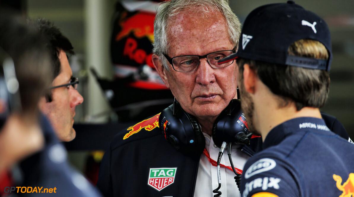 "Helmut Marko: ""Niemand weet wie teamgenoot Verstappen wordt"""