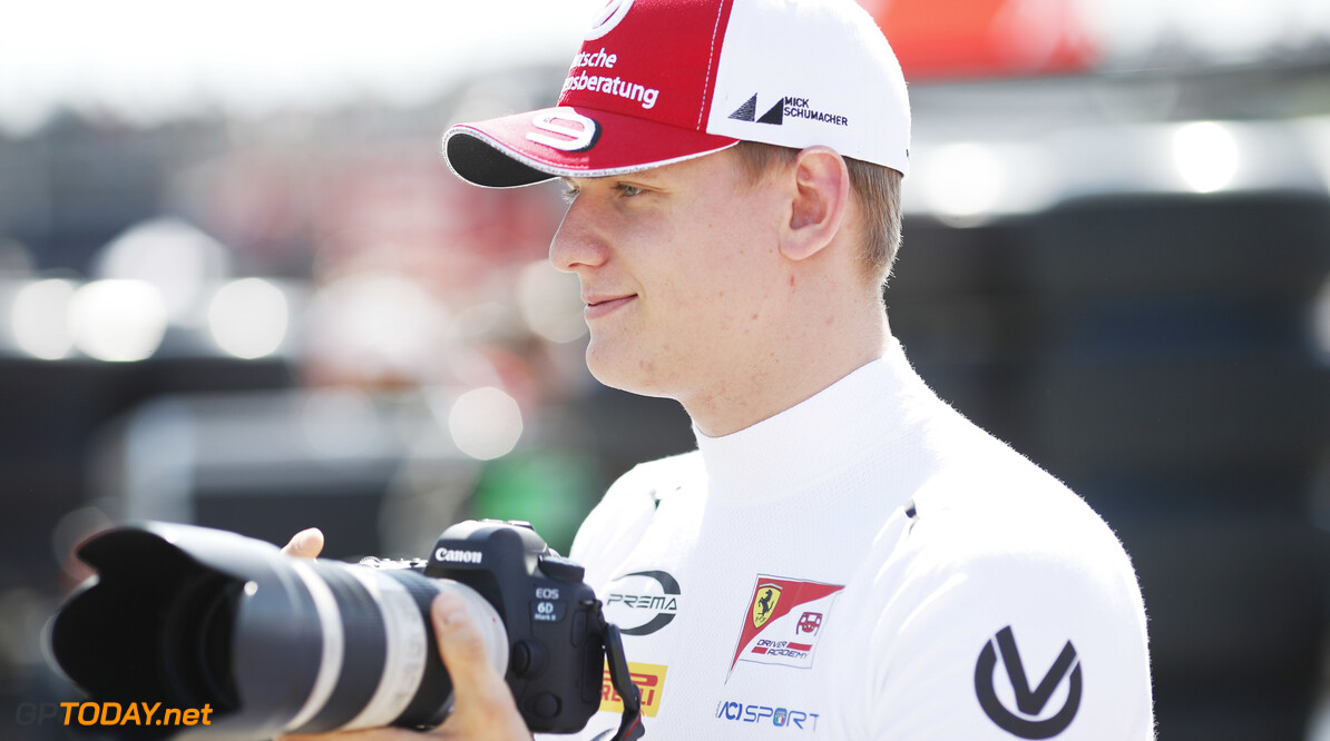2019 Barcelona CIRCUIT DE BARCELONA-CATALUNYA, SPAIN - MAY 11: Mick Schumacher (DEU, PREMA RACING) during the Barcelona at Circuit de Barcelona-Catalunya on May 11, 2019 in Circuit de Barcelona-Catalunya, Spain. (Photo by Joe Portlock) 2019 Barcelona Joe Portlock  Spain