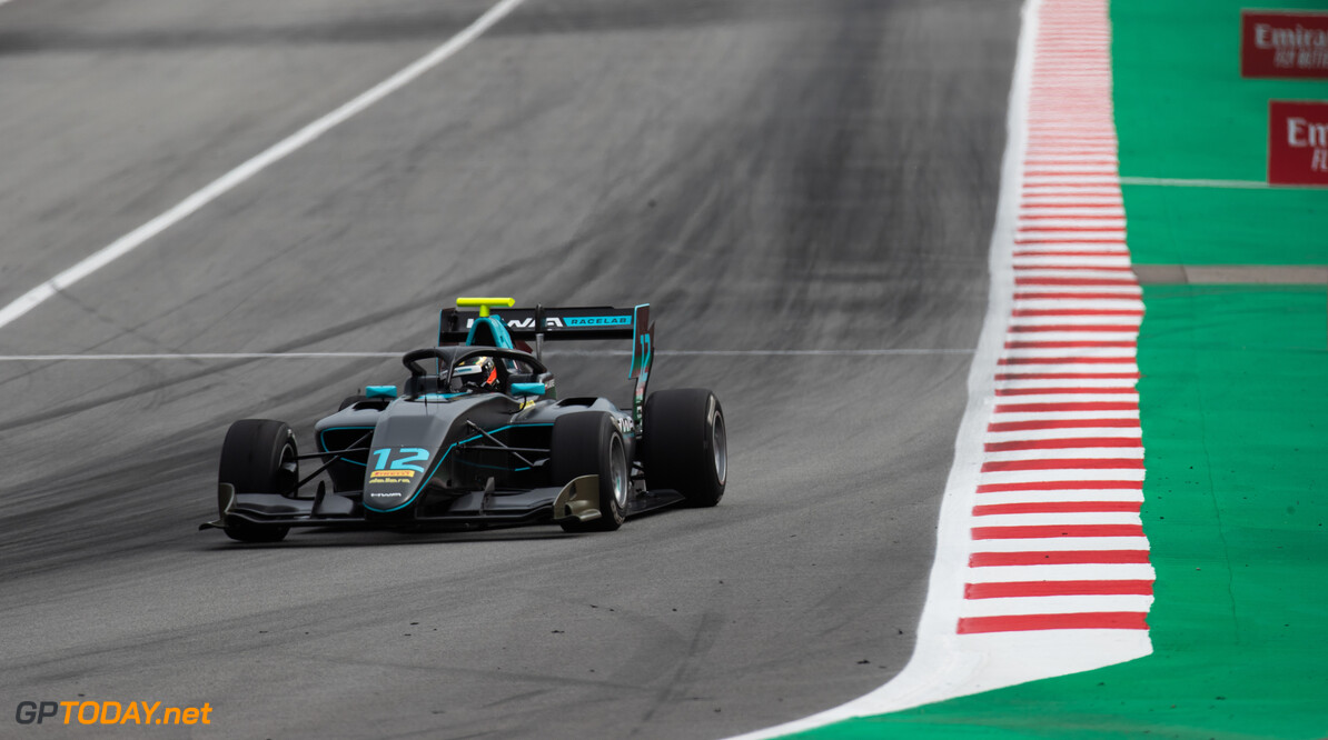 2019 Barcelona CIRCUIT DE BARCELONA-CATALUNYA, SPAIN - MAY 11: Keyvan Andres (IRN, HWA RACELAB) during the Barcelona at Circuit de Barcelona-Catalunya on May 11, 2019 in Circuit de Barcelona-Catalunya, Spain. (Photo by Joe Portlock / LAT Images / FIA F3 Championship) 2019 Barcelona Joe Portlock  Spain  Action Race 1 F3 Formula 3 FIA F3