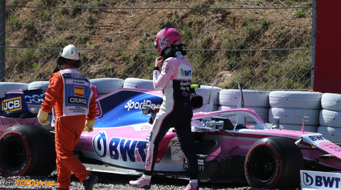 Norris en Stroll verschillen van inzicht over crash in Spanje