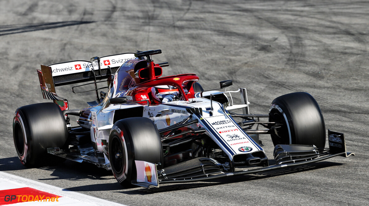 Raikkonen: Barcelona test will help Alfa Romeo at all tracks