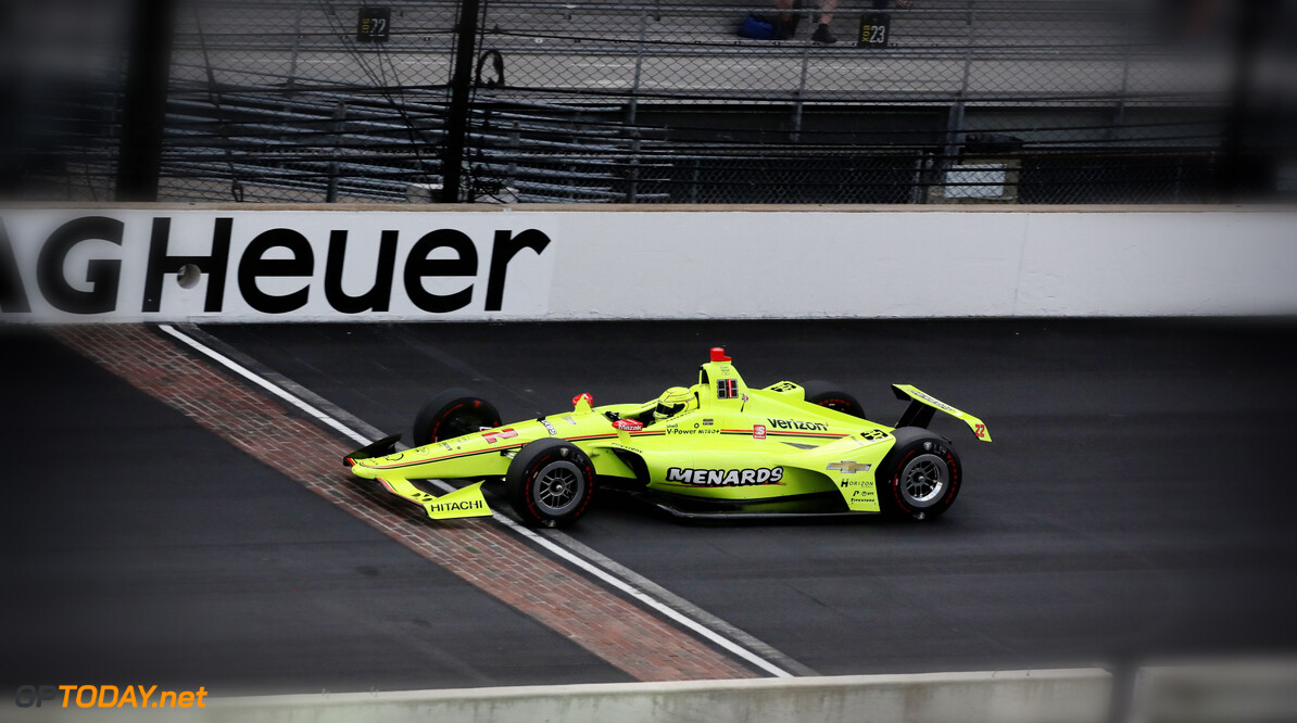 Pagenaud ahead after Monday practice