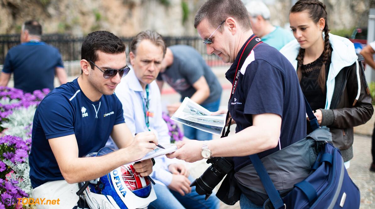 FIA Formula 2 MONTE CARLO, MONACO - MAY 22: Nicholas Latifi (CAN, DAMS) during the Monaco at Monte Carlo on May 22, 2019 in Monte Carlo, Monaco. (Photo by Joe Portlock / LAT Images / FIA F2 Championship) FIA Formula 2 Joe Portlock  Monaco