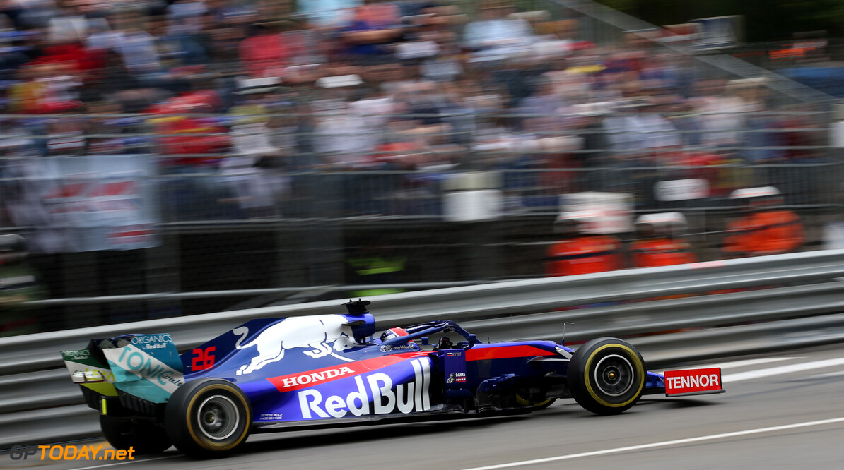 Formula One World Championship Daniil Kvyat (RUS), Scuderia Toro Rosso  23.05.2019. Formula 1 World Championship, Rd 6, Monaco Grand Prix, Monte Carlo, Monaco, Practice Day. - www.xpbimages.com, EMail: requests@xpbimages.com - copy of publication required for printed pictures. Every used picture is fee-liable. (C) Copyright: Charniaux / XPB Images Motor Racing - Formula One World Championship - Monaco Grand Prix - Thursday - Monte Carlo, Monaco XPB Images Monaco Monte Carlo  Formel1 Formel F1 Formula 1 Formula1 GP Grand Prix one May Monaco Monte Carlo Monte-Carlo Thursday 23 5 05 2019 Action Track