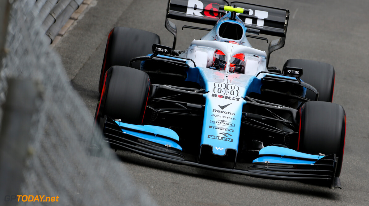 Formula One World Championship Robert Kubica (POL), Williams F1 Team  23.05.2019. Formula 1 World Championship, Rd 6, Monaco Grand Prix, Monte Carlo, Monaco, Practice Day. - www.xpbimages.com, EMail: requests@xpbimages.com - copy of publication required for printed pictures. Every used picture is fee-liable. (C) Copyright: Charniaux / XPB Images Motor Racing - Formula One World Championship - Monaco Grand Prix - Thursday - Monte Carlo, Monaco XPB Images Monaco Monte Carlo  Formel1 Formel F1 Formula 1 Formula1 GP Grand Prix one May Monaco Monte Carlo Monte-Carlo Thursday 23 5 05 2019 Action Track