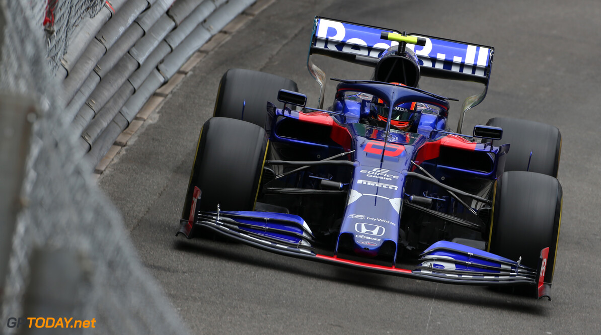 Formula One World Championship Alexander Albon (THA), Scuderia Toro Rosso  23.05.2019. Formula 1 World Championship, Rd 6, Monaco Grand Prix, Monte Carlo, Monaco, Practice Day. - www.xpbimages.com, EMail: requests@xpbimages.com - copy of publication required for printed pictures. Every used picture is fee-liable. (C) Copyright: Charniaux / XPB Images Motor Racing - Formula One World Championship - Monaco Grand Prix - Thursday - Monte Carlo, Monaco XPB Images Monaco Monte Carlo  Formel1 Formel F1 Formula 1 Formula1 GP Grand Prix one May Monaco Monte Carlo Monte-Carlo Thursday 23 5 05 2019 Action Track