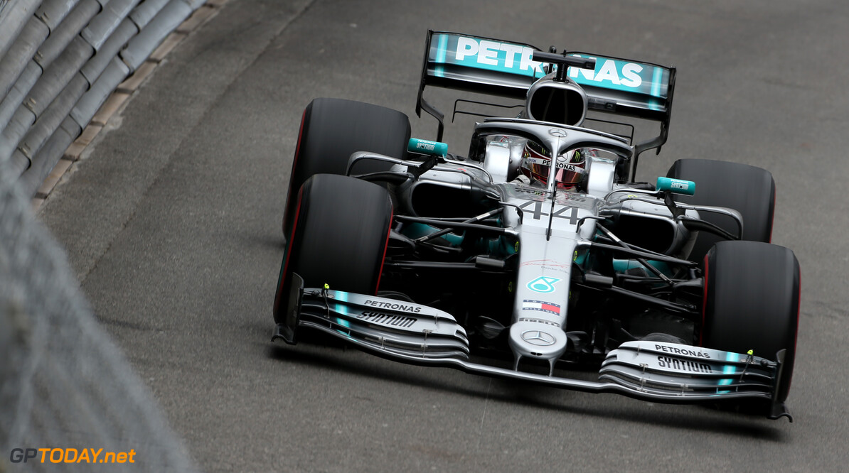 Formula One World Championship Lewis Hamilton (GBR), Mercedes AMG F1   23.05.2019. Formula 1 World Championship, Rd 6, Monaco Grand Prix, Monte Carlo, Monaco, Practice Day. - www.xpbimages.com, EMail: requests@xpbimages.com - copy of publication required for printed pictures. Every used picture is fee-liable. (C) Copyright: Charniaux / XPB Images Motor Racing - Formula One World Championship - Monaco Grand Prix - Thursday - Monte Carlo, Monaco XPB Images Monaco Monte Carlo  Formel1 Formel F1 Formula 1 Formula1 GP Grand Prix one May Monaco Monte Carlo Monte-Carlo Thursday 23 5 05 2019 Action Track