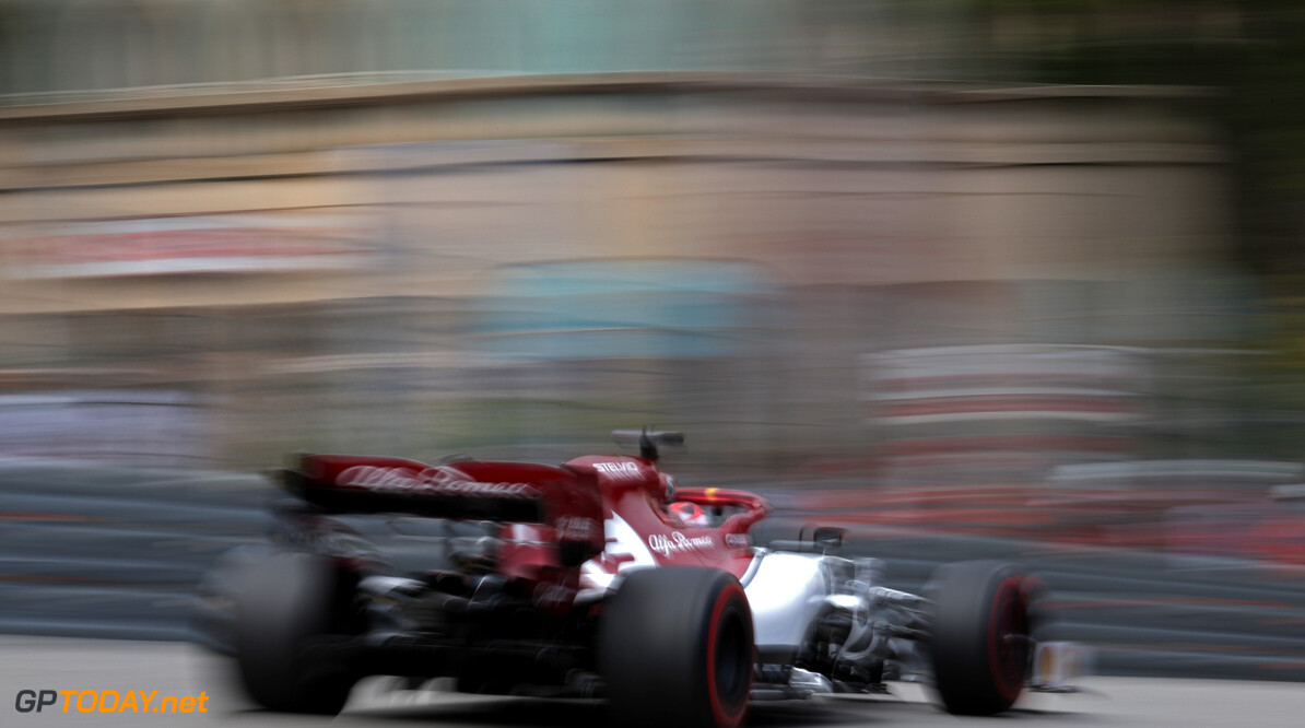 Formula One World Championship Kimi Raikkonen (FIN), Alfa Romeo Racing  23.05.2019. Formula 1 World Championship, Rd 6, Monaco Grand Prix, Monte Carlo, Monaco, Practice Day. - www.xpbimages.com, EMail: requests@xpbimages.com - copy of publication required for printed pictures. Every used picture is fee-liable. (C) Copyright: Charniaux / XPB Images Motor Racing - Formula One World Championship - Monaco Grand Prix - Thursday - Monte Carlo, Monaco XPB Images Monaco Monte Carlo  Formel1 Formel F1 Formula 1 Formula1 GP Grand Prix one May Monaco Monte Carlo Monte-Carlo Thursday 23 5 05 2019 Action Track