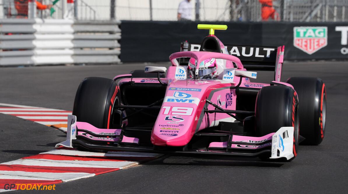 Hubert wint eerste Formule 2-race, De Vries nieuwe leider in titelstrijd